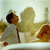 sabeth: X-Files: Mulder and Scully in the sun ([wow] plains of green)