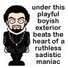 clytemenstra: (yep..., Sadistic)