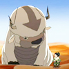 cesy: Toph and Appa from Avatar: the Last Airbender (AtLA Toph and Appa)