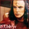 kehleyr: (K'Ehleyr red text)
