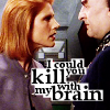 beatrice_otter: Lyta Alexander--I could kill you with my brain! (Kill With Brain)