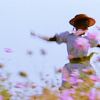 jcalanthe: woman dancing in a field of flowers (yay)