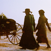 jcalanthe: 2 women holding hands and walking away (friends)