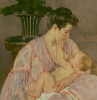sara: a Mary Cassat painting of a mother and baby (nummies)