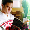 sperrywink: (Glee_Blaine_Reading by Marita23)