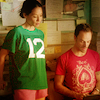 oyceter: Joan and Sherlock looking at tablet (elementary)