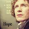"waterfall8484: Picture of the Eight Doctor with the text ""Hope"". (Hope by iristigerlily)"