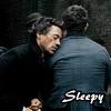 miracleshining: Sherlock Watson 3 (Sleepy)