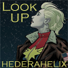 hederahelix: from Captain Marvel 10: Carol Danvers in flight jacket over uniform looks up at starfield (captain marvel)