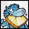 jjhunter: blue monster happ'ly munching munster cheese (monster munching munster)