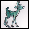 jjhunter: a watercolor 'teal deer' (tl;dr)