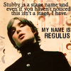 heidi: (Stubby, Regulus, Four One McD)