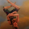 extraordinaryboy: (sitting on clouds upside down)