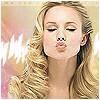 monsterqueen: Kristen Bell making a kissy face! (Kissy-Face Kristen)