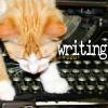 farad: (SallyMN - writing kitty)