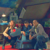 "gloriafan: Clyde, Luke, Rani, K9, and Sarah Jane from ""The Sarah Jane Adventures."" (SJA - Bannerman Road Gang)"
