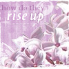 "deird1: lilac flowers, with text ""how do they rise up"" (Saffron (poignant))"