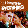 "deird1: Joey and Pacey at the prom, with text ""I remember everything"" (Joey Pacey remember)"