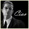"deird1: Spike in Italy, with text ""ciao"" (Spike ciao)"