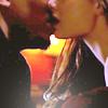 deird1: Gunn and Gwen kissing (Gunn Gwen kiss)
