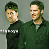 scrollgirl: john and cam; text: flyboys (sg-1 sga flyboys)