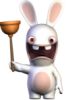foxriverinmate: (Rabbid with plunger)