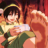 resonance_and_d: toph's dirty foot (toph)