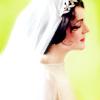 cienna: (mary in wedding dress)