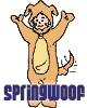 springwoof: A cartoon rendition of a Woof (Cool)