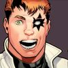 momijizukamori: Shatterstar from the comic series X-Factor, looking very excited (Tony Stark Time)
