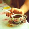 cecilegrey: (STOCK: tea and cigarette)
