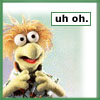 wembley: Revamped version of my very first LJ icon. It's of Wembley Fraggle. (mohinder bandage)