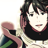 mikogalatea: Stahl from Fire Emblem 13, looking at the viewer with an adoring puppydog expression. (Stahl)