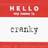 fearless: Hello my name is: cranky (Cranky)