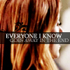 fearless: Everyone I know goes away in the end (Goes Away)