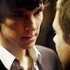 tehomet: (Sherlock + John unf moment)