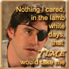 jadelennox: Buffy's Xander with an eyepatch: Nothing I cared, in the lamb white days, That time would take me. (btvs: xander: lambwhite)