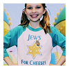 jadelennox: Young Chuck Charles, from Pushing Daisies, wearing a Jews for Cheeses shirt (religion: Jews for Jesus)