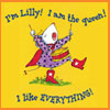"jadelennox: Lilly Of the Purple Plastic Purse: ""I'm Lilly! I am the queen! I like EVERYTHING!"" (chlit: lilly)"