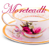 moreteadk: A fancy pink and white china tea cup with my username over it. (Default)
