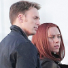 musesfool: Steve Rogers & Natasha Romanoff looking badass (girlfriend is better)