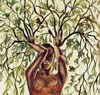figment: A treewoman, a dryad, her arms are branches (treewoman)