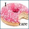 hyperconformist: i donut care. (donut)