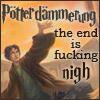 esther_asphodel: potterdammerung. the end is fucking nigh (potterdamarung)