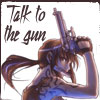 chomiji: Revy, the violent yet appealing lead in Rei Hiroe's manga Black Lagoon: two guns, no waiting! (Revy - gun)