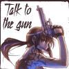 chomiji: Revy, the violent yet appealing lead in Rei Hiroe's manga Black Lagoon: two guns, no waiting! (Revy - gun)