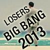 ante_up_losers: Max with his back to camera, words Big Bang 2013 (Big Bang 2013)