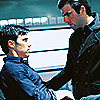 sinorhizobium: Peter and Sylar from heroes (Peter, Sylar)