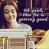"""trouble: Willow looking smug while looking at a compute screen.  """"Oh yeah, this fic is getting good."""" (pleased willow is pleased)"""