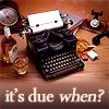 ninjabeta: (TypewriterDuedate)